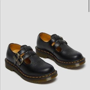 Dr. Martens LEATHER MARY JANE SHOES